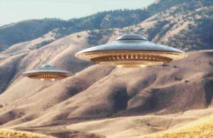 mysterious black triangle UFO Area 51